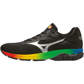 Mizuno Wave Rider 23 Running Shoes Men, black/black/black